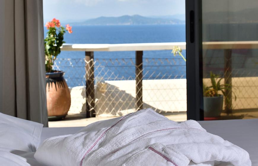 Chambre Avec Terrasse Et Vue Sur Mer